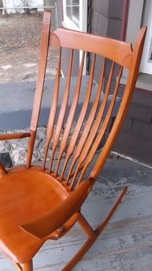 Buy A Hand Crafted Windsor Rocking Chair Made To Order