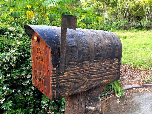 Custom Made Rustic Mailbox