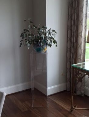 Custom Made Acrylic Pillars - Any Size, Style Or Color You Need