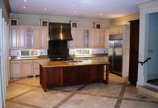 Custom Made Custom Kitchen Cabinetry And Island