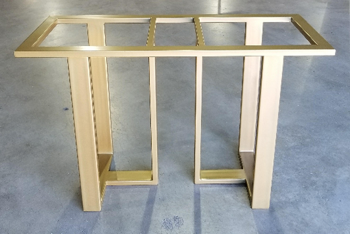 Custom Made Metal Console Table Base