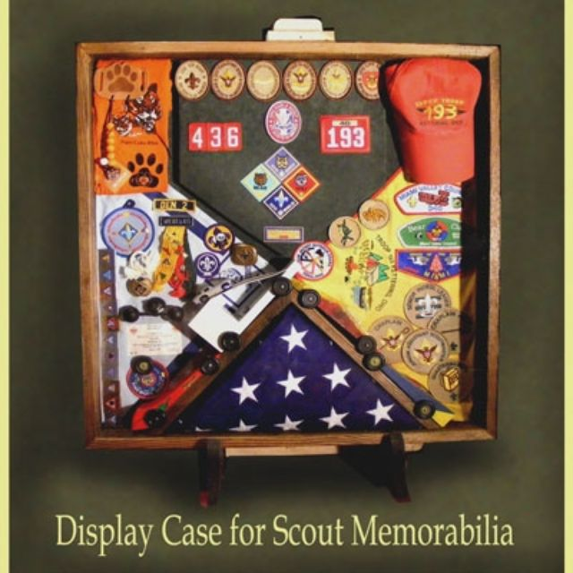 Hand Made Wood Shadow Boxes For Cub Scouts, Boy Scouts And Eagle ...