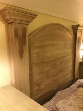 Custom Made Head Board Units And Night Stands