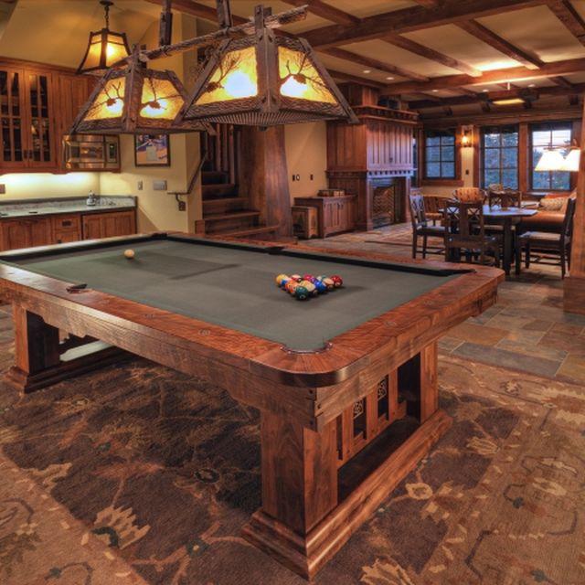 Custom Pool Tables CustomMadecom - Mid century modern pool table