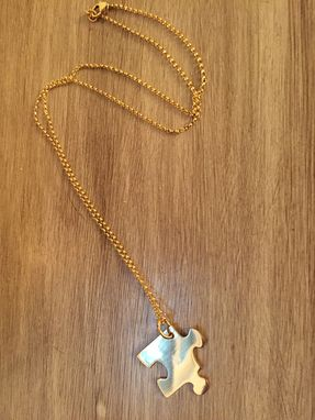 Custom Made Puzzel Pendant