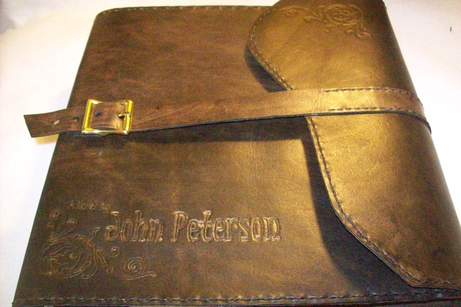 Custom Leather Binder