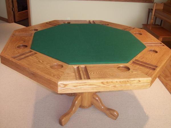 Hand Made Oak Poker Table By Jay S Custom Woodwork
