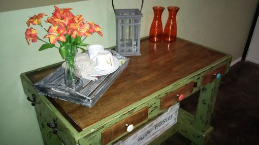 Custom Made Island Or Entry Table