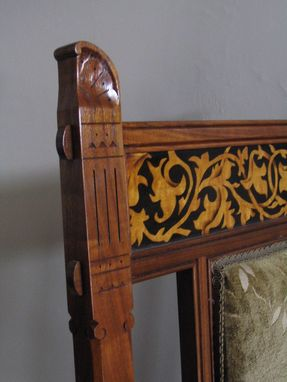 Custom Made Gothic Revival Chairs
