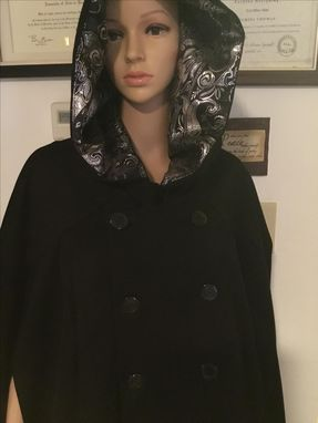 Custom Made 6xl Men'S Wool Blend Cape