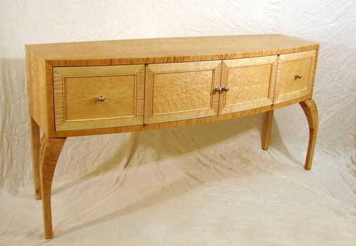 Custom Made Bow Front Sideboard