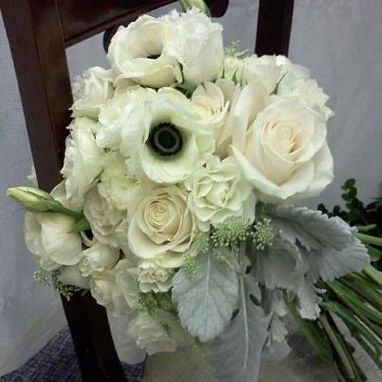 Custom Made Shabby Chic Wedding Bouquet