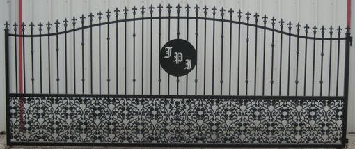 Custom Made Ornamental Iron Style Gates