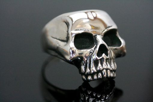 Custom Made Classic Skull Ring