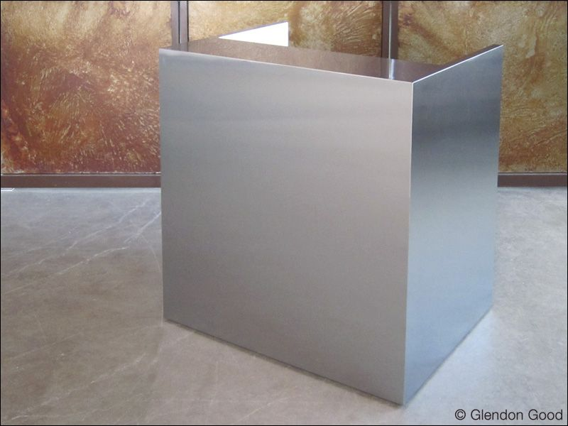 Stainless Steel Reception Desk