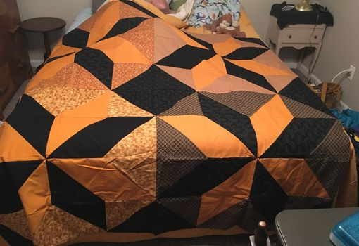 Custom Made Lemoyne Star Quilt