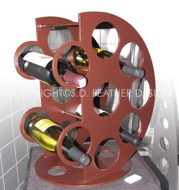 Custom Made Orb Wine Rack