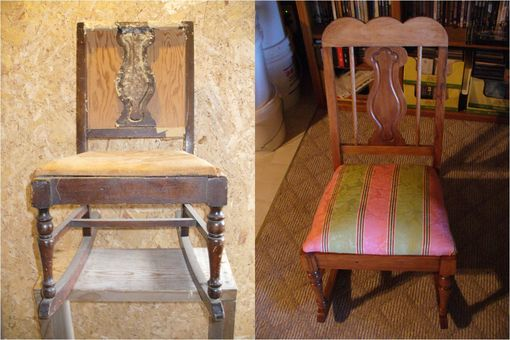 Custom Made Rocking Chair Refurbishment