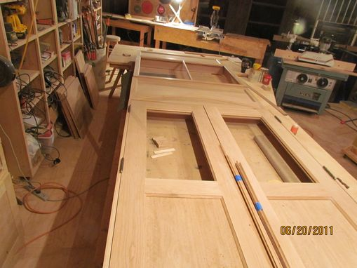 Custom Made Historic Door In Process