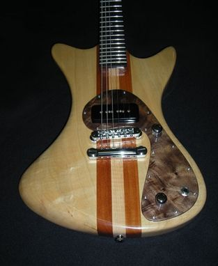 Custom Made Neck Thru Space Guitar