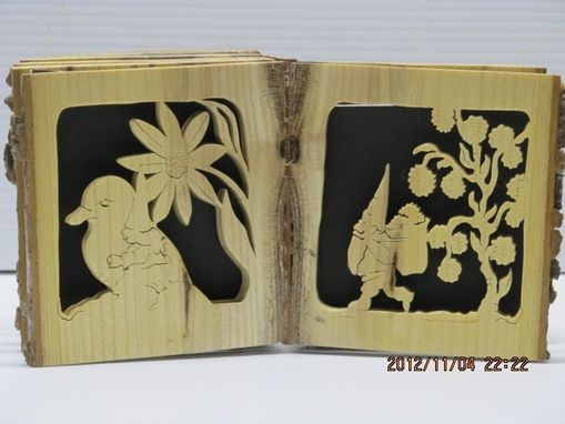 Custom Made Log Picture Book