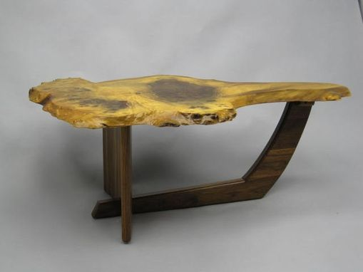 Custom Made Natural Edge Coffee Table