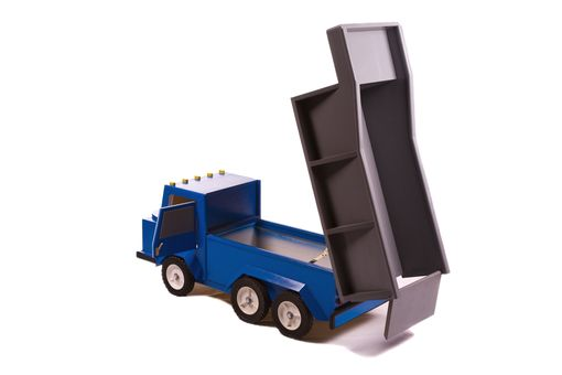 Custom Made Dump Truck Toybox