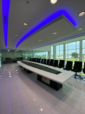 Custom Made Custom Shaped Conference Tables