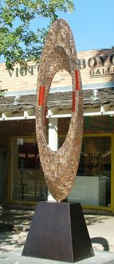 Custom Made Copper Sculpture
