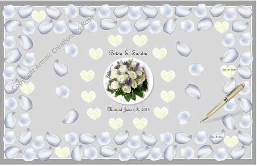Custom Made Wedding Guest Book Alternative,Zen Wedding,Guest Book Alternative,Wedding Accessories