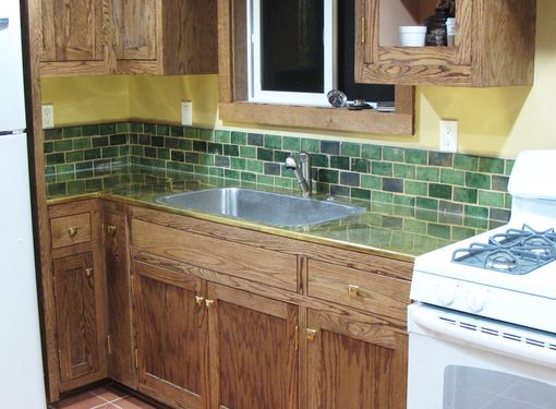 Custom Made Arts And Crafts Tile Backsplash By Cottage Craft Tile