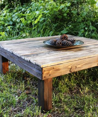 Custom Made The Yonder Farmhouse Reclaimed Wood Coffee Table