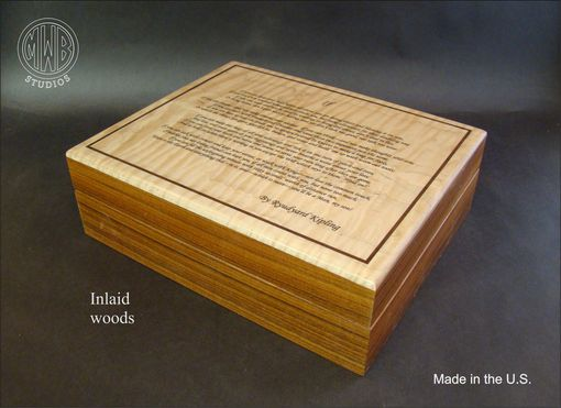 Custom Made Custom Personalized Humidors.