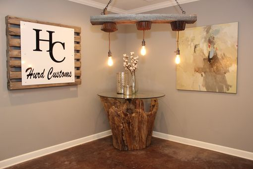 Custom Made Stump Foyer Table