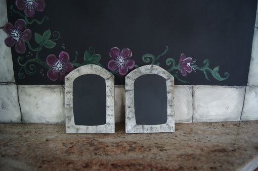 Custom Made Wedding Chalkboard And Matching Wedding Favors