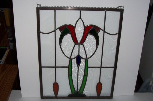 Custom Made Leaded Stained Glass Panel