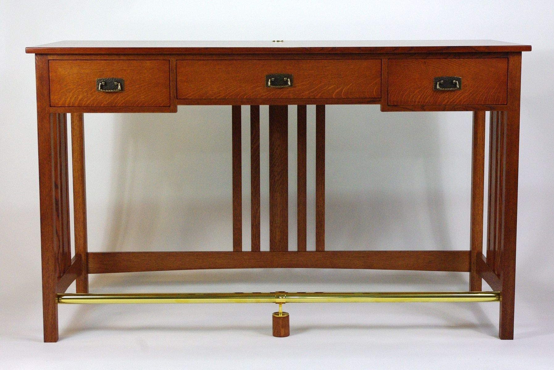 Hand Crafted Mission Stand Up Desk By Rugged Cross Fine Art Woodworking Llc Custommade Com
