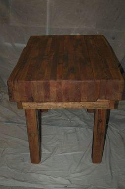 Handmade Butcher Block Table Environmental Builders Inc Custommade