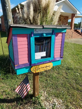 Custom Made Little Free Library