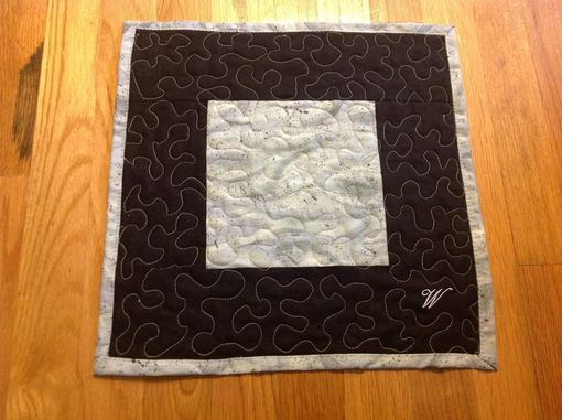 Custom Made Decorative Quilted Mat/Wall Hanging. Personalizable