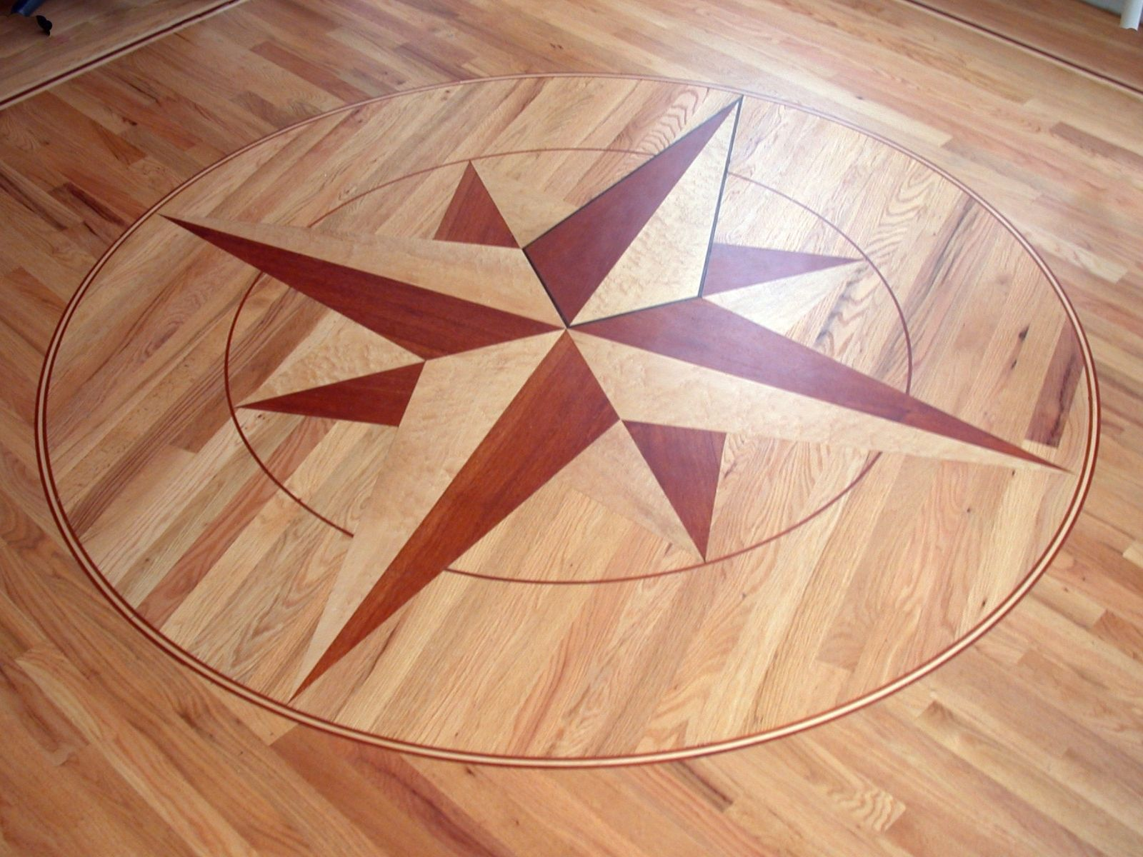 Hand Crafted Compass Rose By Studio Two Design And