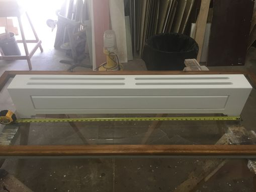 Custom Made Custom Raised Panel Radiator Covers
