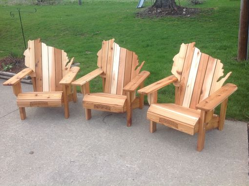 handmade adirondack chairs handmade cedar adirondack wisconsin chairs with 2602