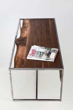 Custom Made Industrial Rustic Coffee Table