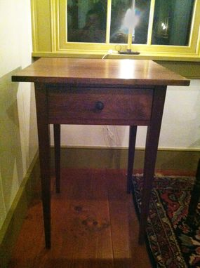Custom Made Walnut Shaker Nightstand