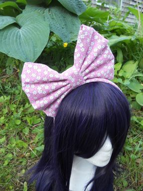 Custom Made Large Lolita Headband Bow