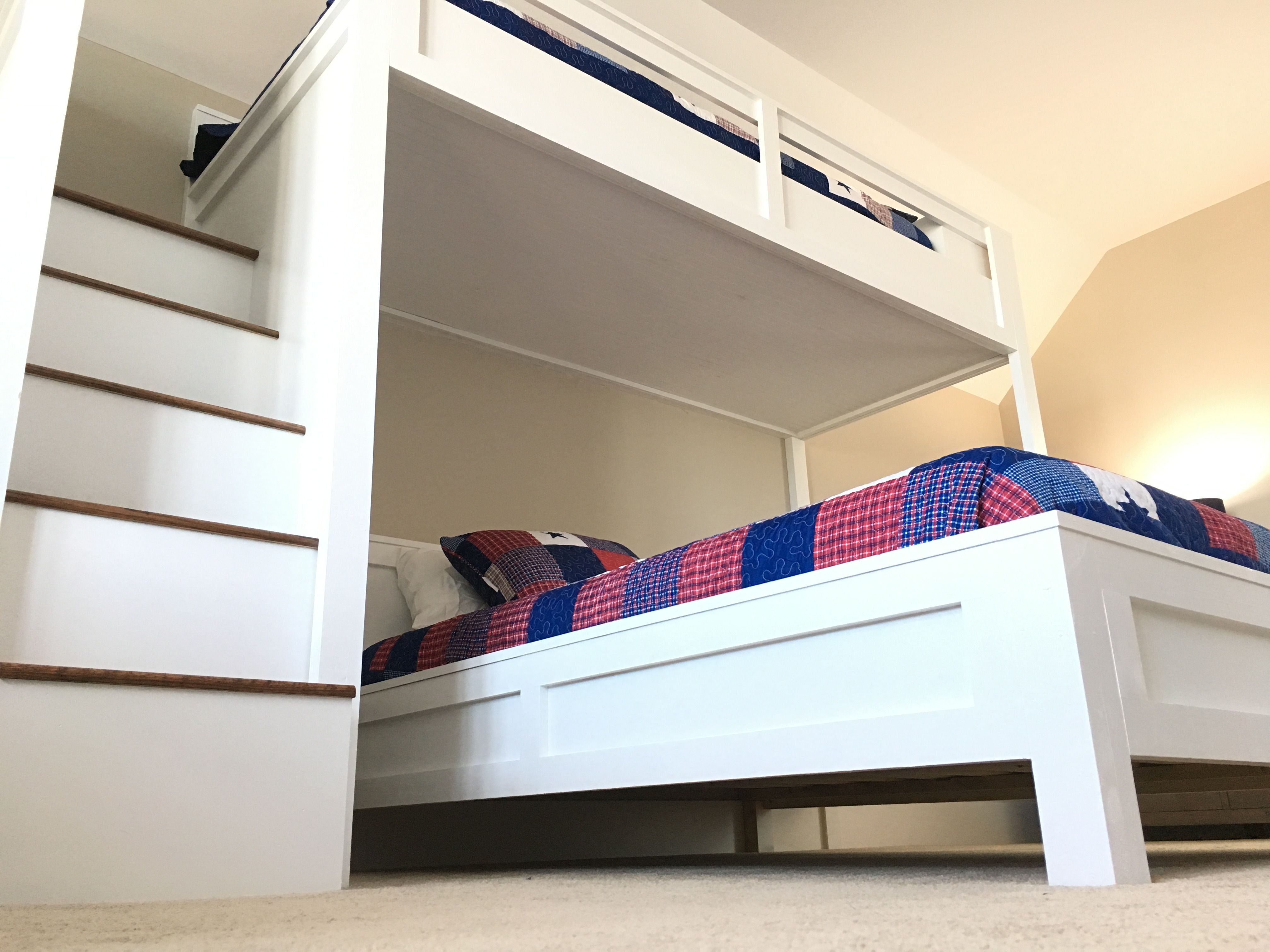 Hand Made Multiple Bunk Bed By Edwood Custom Furniture Custommade Com