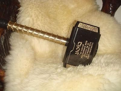Hand Made Custom Thor Hammer Mjolnir By Eaglewood Thor