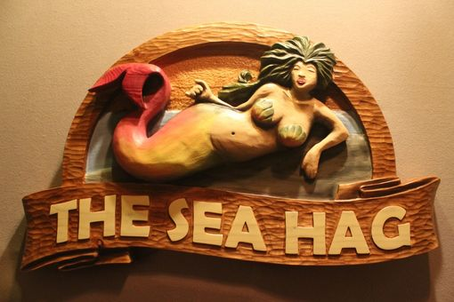 Custom Made Mermaid Signs, Nautical Signs, Yacht Signs, Boat Signs, Ship Signs By Lazy River Studio