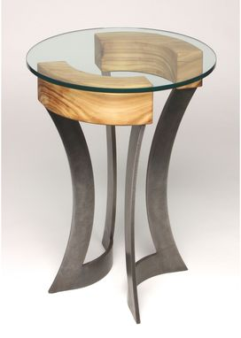 Custom Made Roca Side Table